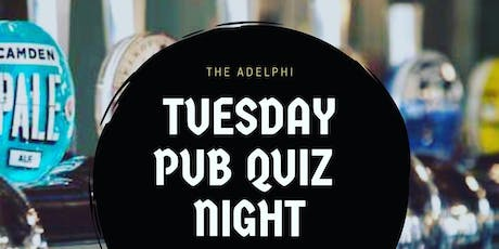 Monthly Tuesday Quiz  tickets