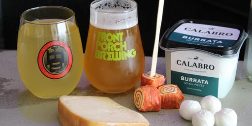 Beer, Cider and Cheese Pairing