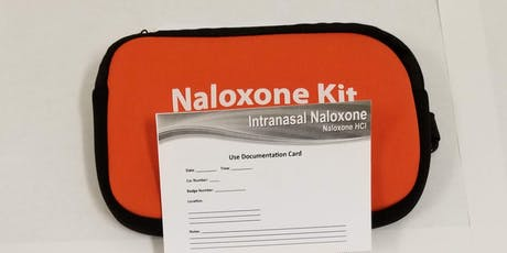 Prevent Opioid Overdose, Save Lives: Free Narcan Training August 13, 2019 tickets