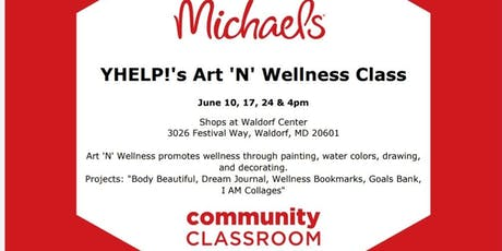 YHELP!'s Art 'N' Wellness Classes at Michael's tickets