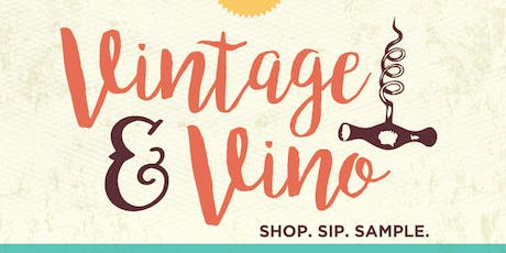 Vintage & Vino Fall Market 2019  tickets