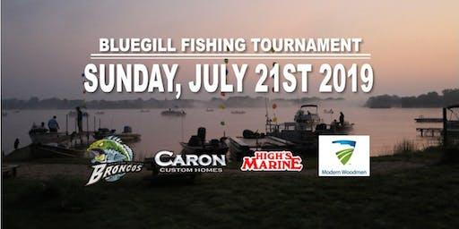5th Annual Bluegill Fishing Tournament