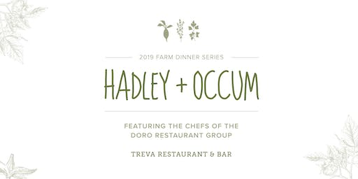 Hadley + Occum, 2019 Farm Dinner Event ft. Chefs from Treva