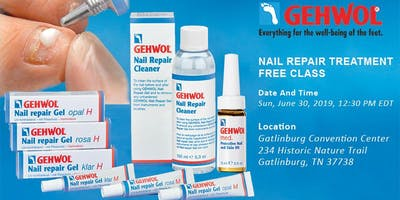 GEHWOL NAIL REPAIR TREATMENT – FREE CLASS