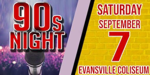 90s Night at Evansville Coliseum