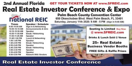 Annual Florida Real Estate Investor Conference & Expo tickets