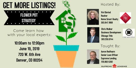 Get More Listings..All agents welcome tickets