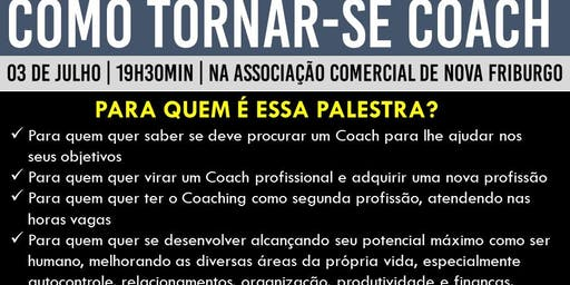 PALESTRA GRATUITA: COMO TORNAR-SE COACH