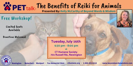 PETtalk: The Benefits of Reiki for Animals tickets