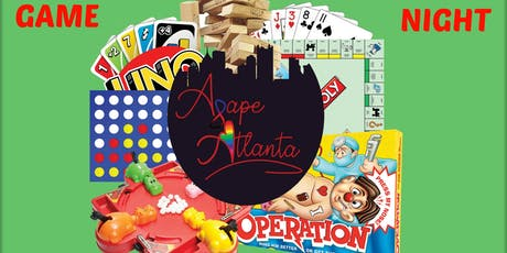 Game Night: Hosted by Agape Atlanta & Friends  tickets