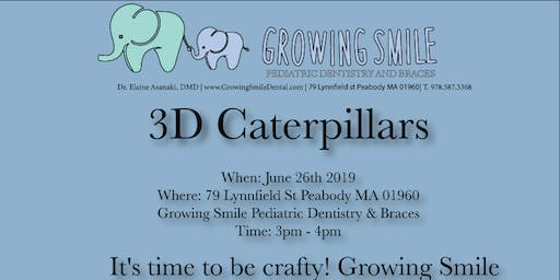 3D Caterpillars - Crafting event for kids!