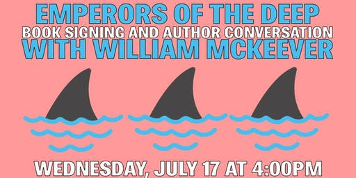 Discussion, Book Signing & Documentary Screening w/ William McKeever