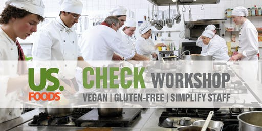 US Foods Palm Springs CHECK Staffing/Vegan Workshop