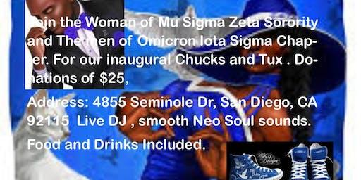 OIS & Mu Sigma Zeta Chucks and Tux Neo Soul Social