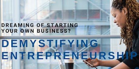 Demystifying Entrepreneurship-By CU Leeds School of Business tickets