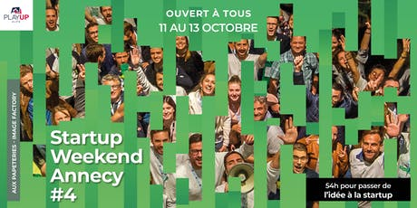 Startup Weekend Annecy #4 billets