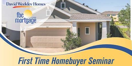 First Time Homebuyer Seminar tickets