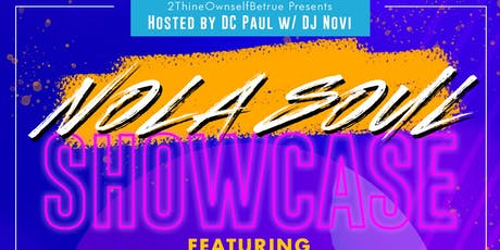 NOLA SOUL SHOWCASE tickets