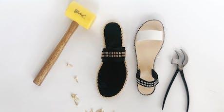 Sandal Making Workshop - Stud Collection tickets