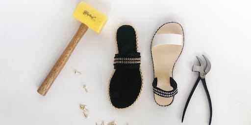 Sandal Making Workshop - Stud Collection