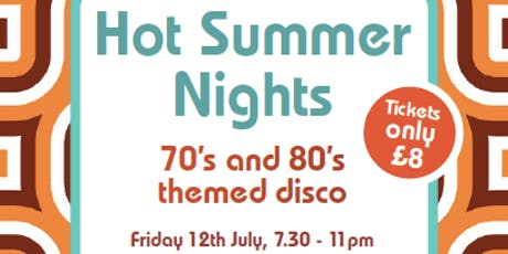 70's and 80's Themed Disco tickets