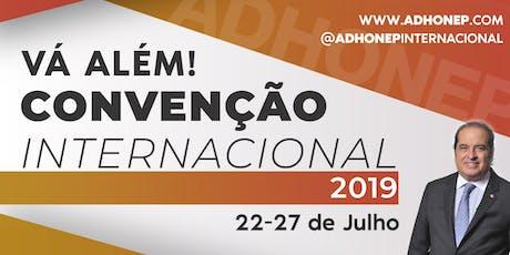 Convenção ADHONEP 2019 - Vá Além ingressos