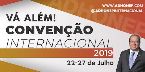 Convenção ADHONEP 2019 - Vá Além
