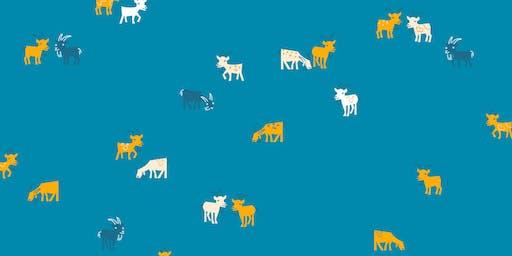 Goatham Gardener Talk- Meet the Riverside Park Conservancy Goats!