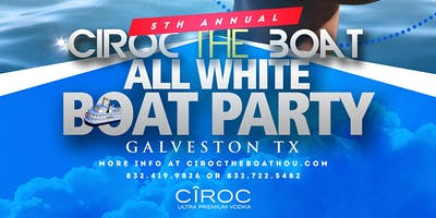 "The 5th Annual ""Ciroc The Boat"" All White Boat Party 