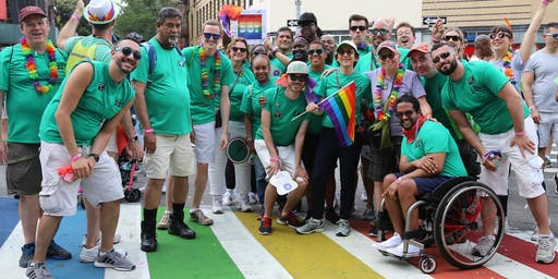 Marching with the Mayor at the New York City Pride Parade