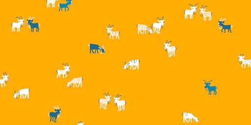 Meet the Goats! Goatham Gardener Talk for Children & Families