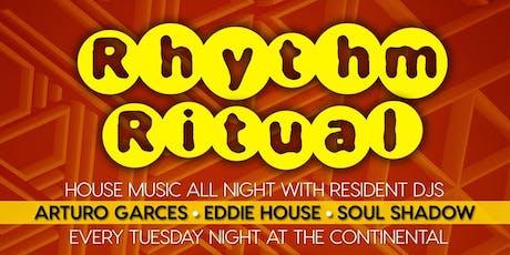 Rhythm Ritual - June tickets