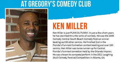 Gregory's Cocoa Beach Comedy Club Ken Miller w/ Kevin Kinner 7/25-27 !