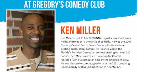 Gregory's Cocoa Beach Comedy Club Ken Miller w/ Kevin Kinner 7/25-27 ! tickets
