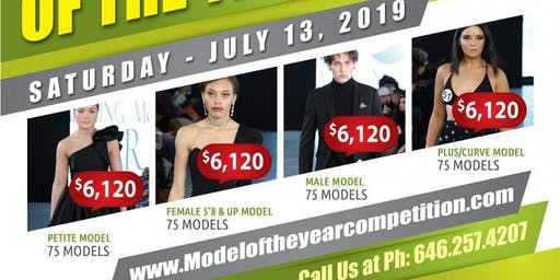Scout to Discover and Recruit Aspiring, Potential Models at the 2019 Fashion Model of the Year Competition Show in NYC