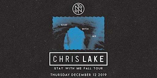 Chris Lake @ Noto Philly Dec 12