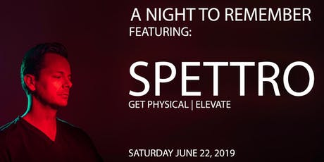 A Night To Remember Featuring: Spettro tickets