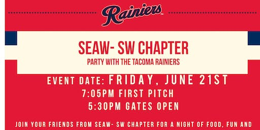 SEAW SW Chapter Summer Social at The Tacoma Rainiers