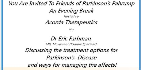 Friends of Parkinson's Evening Break with the Doctor tickets