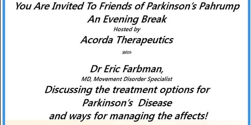 Friends of Parkinson's Evening Break with the Doctor