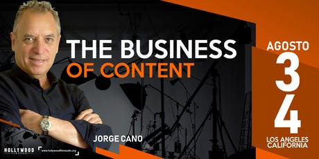 The Business of Content tickets