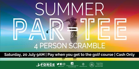 PRGC - Summer Par-Tee 4 person  golf scramble tickets