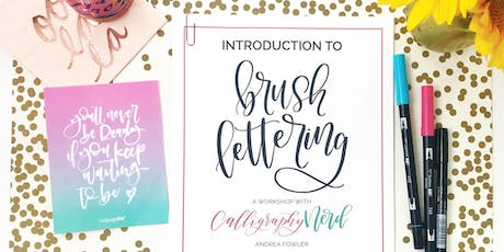 Intro to Brush Lettering Calligraphy with Calligraphy Nerd! tickets