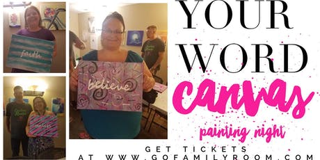 Your Word - Canvas Painting Night tickets