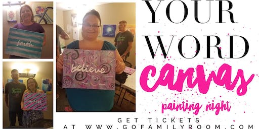 Your Word - Canvas Painting Night