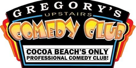 Gregory's Cocoa Beach Comedy Club Eric DaSilva w/ Quinton Greene 6/27- 29 tickets