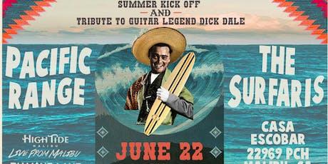 Summer Kick Party with The Surfaris Live From Malibu June 22 at Casa Escobar tickets
