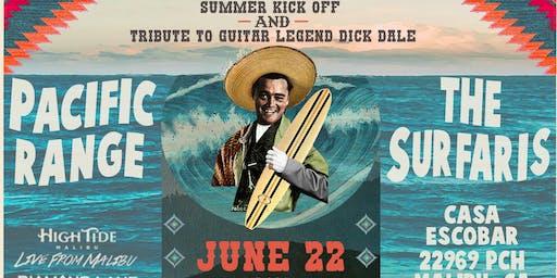 Summer Kick Party with The Surfaris Live From Malibu June 22 at Casa Escobar