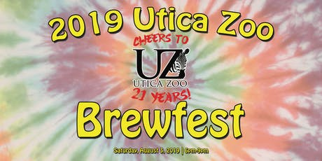 2019 Utica Zoo Brewfest (21+) tickets