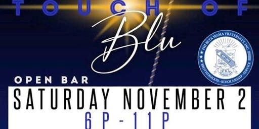 "Phi Beta Sigma Fraternity Inc Pi Psi Sigma Chapter Presents ""Touch of Blu"""